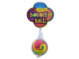 72 Units of Swirly Super Bounce Ball - Toy Sets