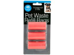 72 Units of Pet Waste Refill Bags - Pet Accessories