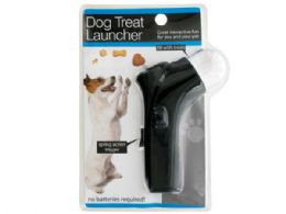 12 Units of Dog Treat Launcher With Spring Action Trigger - Pet Toys