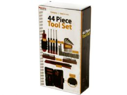 6 Units of Compact Tool Set in Storage Case - Hardware Miscellaneous