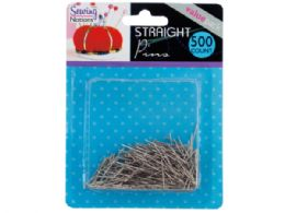 72 Units of Straight Pins Value Pack - Sewing Supplies
