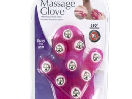 12 Units of Massage Glove With Rotating Steel Balls - Personal Care Items