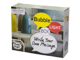 12 Units of Mini Bubble Light Box Message Board With Markers - Markers and Highlighters