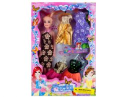12 Units of Fashion Doll with Dresses Set - Toy Sets
