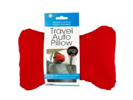 24 Units of Travel Auto Pillow With Strap - Auto Accessories