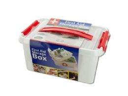 12 Units of First Aid Storage Box - First Aid and Bandages
