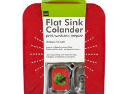 18 Units of Flat Sink Colander - Kitchen Gadgets & Tools