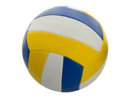 6 Units of Size 5 Yellow & Blue Volleyball - Balls