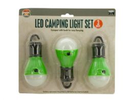 12 Units of LED Hanging Camping Light Set - Camping Gear