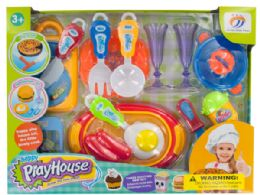 12 Units of Fancy Cooking Play Set - Toy Sets
