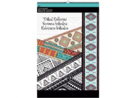 48 Units of Tribal Patterns Large Coloring Pad - Coloring & Activity Books