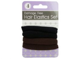 72 Units of Damage Free Wide Hair Bands Set - Hair Accessories