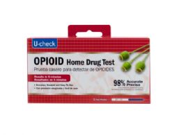 36 Units of U-Check Opioid Home Drug Test - First Aid and Bandages