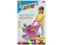 6 Units of Toy Grocery Shopping Cart Set - Toy Sets