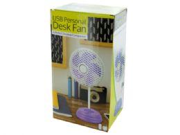 12 Units of Classic Design USB Personal Desk Fan - Electric Fans