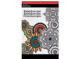 36 Units of Kaleidoscope Large Coloring Pad - Coloring & Activity Books