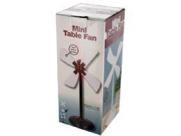 12 Units of Mini USB Table Fan - Electric Fans