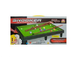 6 Units of Tabletop Pool Table Game Set - Toy Sets