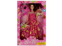 18 Units of Party Night Fashion Doll With Accessories - Girls Toys