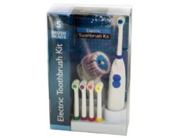 6 Units of Electric Toothbrush Set - Toothbrushes and Toothpaste