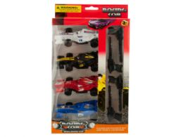 12 Units of Racing Car Launch Set - Toy Sets