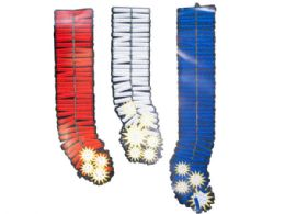 144 Units of Patriotic Firecracker Bursts Hanging Party Decorations - Hanging Decorations & Cut Out