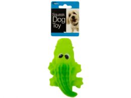 72 Units of Crocodile Squeak Dog Toy - Pet Toys