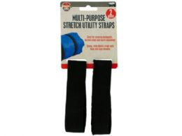 72 Units of MultI-Purpose Stretch Utility Straps Set - Hardware Shop Equipment