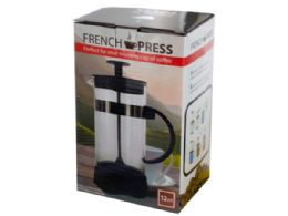 12 Units of 12 Oz. French Press Coffee Maker - Kitchen Gadgets & Tools
