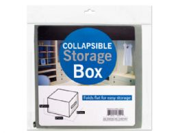 36 Units of Small Square Collapsible Storage Box - Storage & Organization