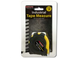 36 Units of 12 Foot Industrial Tape Measure - Tape Measures and Measuring Tools