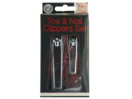 36 Units of Toe & Nail Clippers Set - Manicure and Pedicure Items