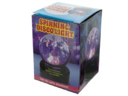 12 Units of Spinning Disco Party Light - Party Novelties