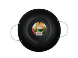 12 Units of All Purpose Stir Fry Pan With Handles - Frying Pans and Baking Pans
