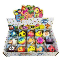 48 Units of Slow Rising Squishy Toy Ball Display Box - Slime & Squishees