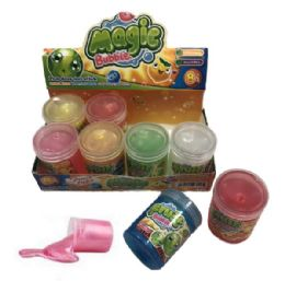 96 Units of Slime Glitter Fruit Bubble Assortment - Slime & Squishees