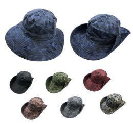 24 Units of Multicam Boonie Military Camo Assortment - Cowboy & Boonie Hat