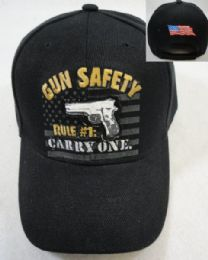 36 Units of Gun Safety Rule Carry One Hat - Baseball Caps & Snap Backs