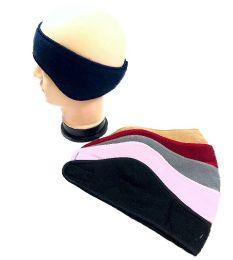 36 Units of Fleece Wrap Around Ear Warmer Assorted Colors - Ear Warmers