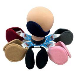 72 Units of Earmuffs Solid Colors - Ear Warmers