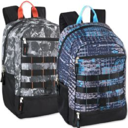 """24 Units of Mountain Edge 19 Inch Daisy Chain Backpack - Backpacks 18"""" or Larger"""