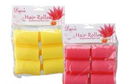 100 Units of Professional Hair Rollers 6 Piece - Hair Brushes & Combs