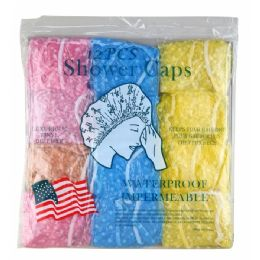 120 Units of Shower Cap 12 Piece - Shower Caps