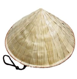 24 Units of Bamboo Conical Hat - Sun Hats