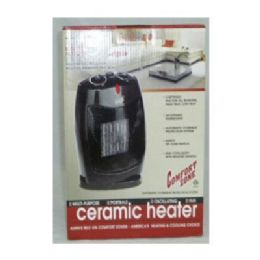 "6 Units of Osc Ceramic Heater 12.5x8.5x7.25"" - Electrical"