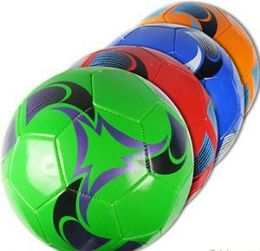 10 Units of Official Size Swirly Soccer Balls - Balls