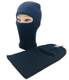 36 Units of Ski Mask [Single Eye Slit] *Black Only - Unisex Ski Masks