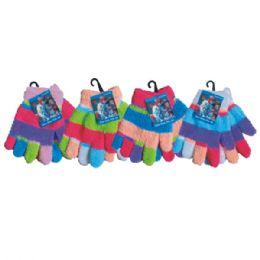 120 Units of Winter Kid Fuzzy Glove - Fuzzy Gloves