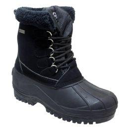 12 Units of Women's Waterproof Snow Boots In Black - Women's Boots