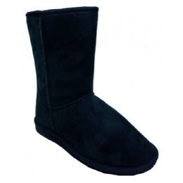 18 Units of Women's Warm Winter Boots In Black - Women's Boots